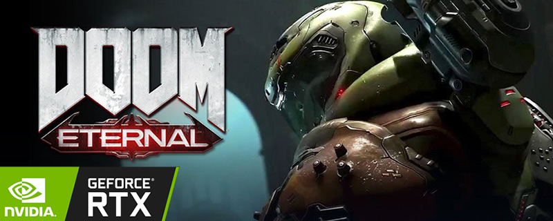Ray Tracing is coming to DOOM Eternal -