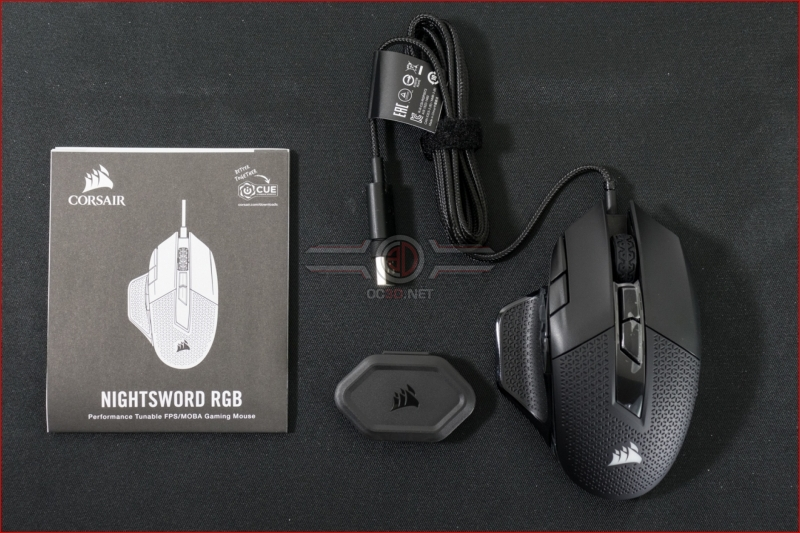 Corsair Nightsword RGB Gaming Mouse Contents