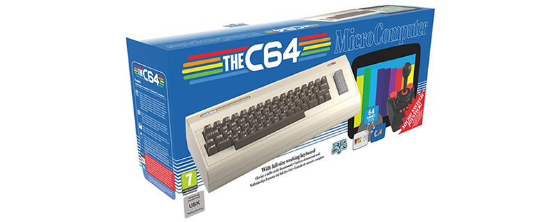 The Commodore 64 is getting a full-sized re-release - Meet