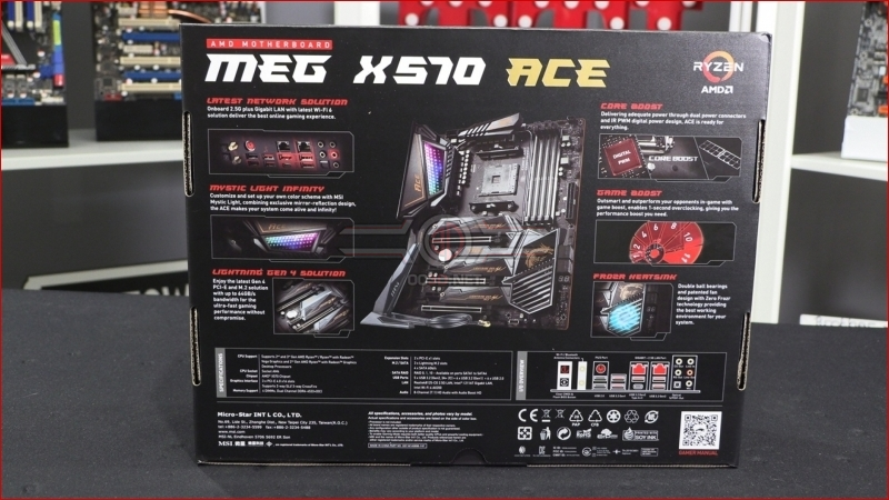 MSI MEG X570 ACE Packaging