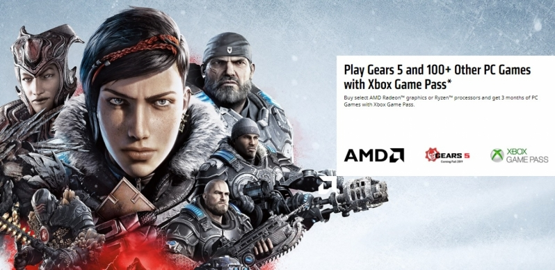 AMD Bundles 3 Months of Xbox Game Pass for PC with Ryzen and Radeon Components