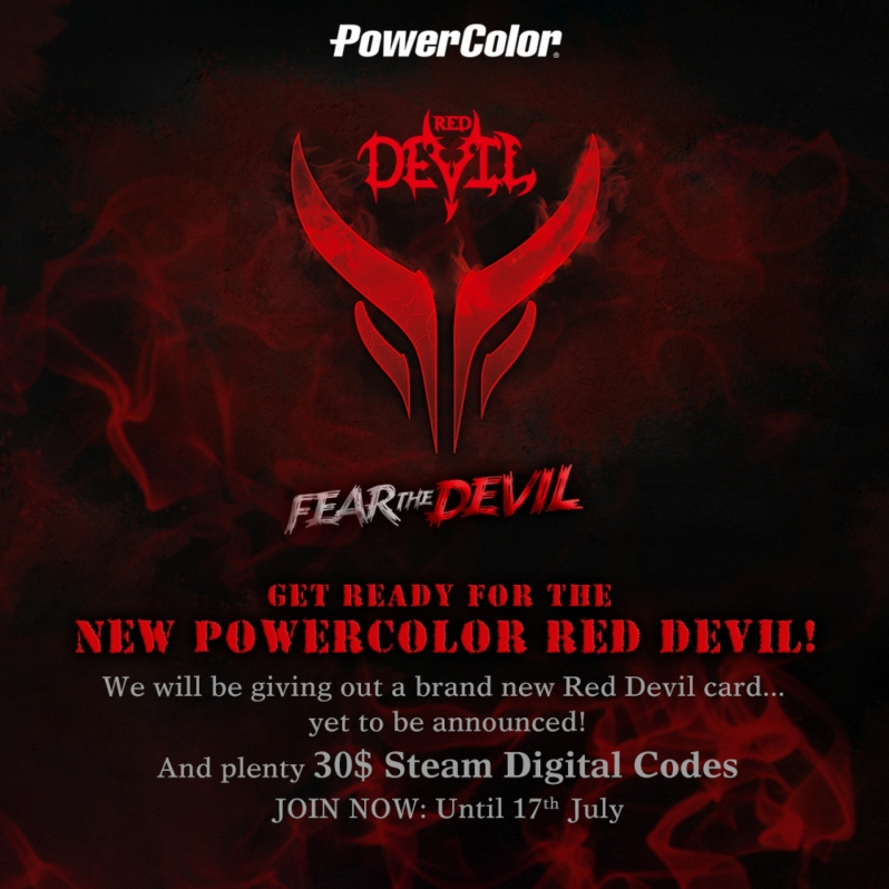 PowerColor Teases Red Devil Series Navi graphics cards