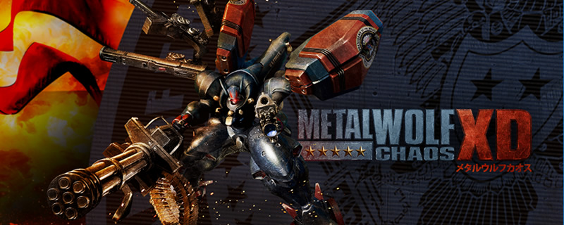 Metal Wolf Chaos XD is coming to PC next month