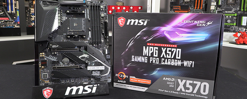 MSI MPG X570 Gaming Pro Carbon WiFi Review