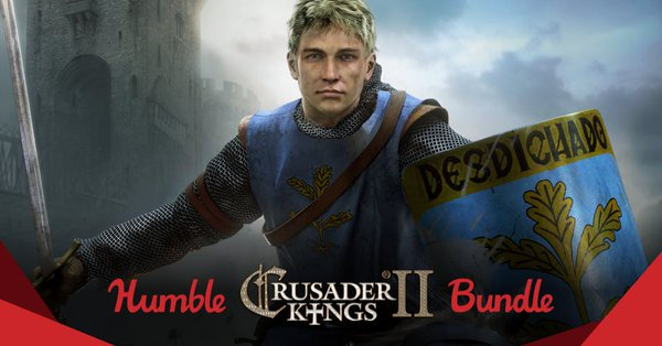 The Humble Crusader Kings 2 Bundle is now live