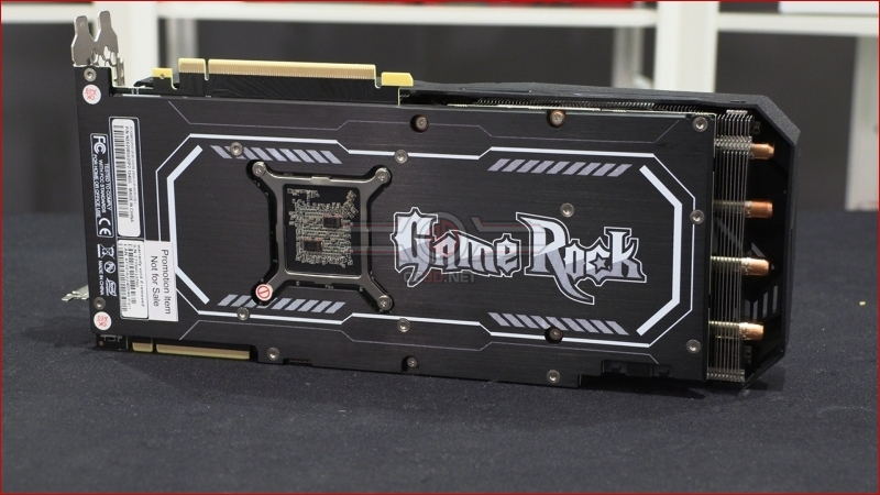 Palit RTX 2080 Super Game Rock Backplate