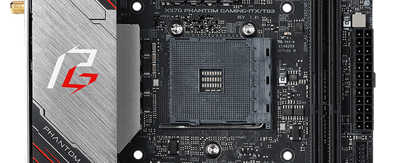 ASRock's X570 Phantom Gaming ITX ditches AM4 cooler support in favour of 115X mounts