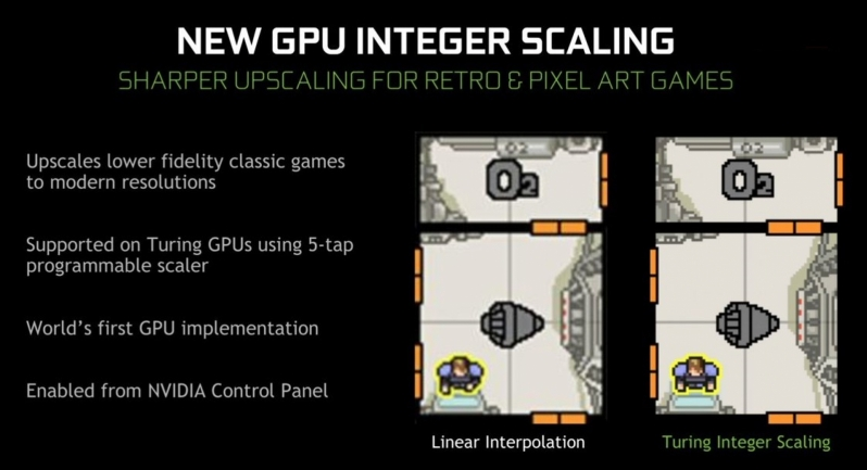 Nvidia brings Integer Scaling to its drivers, but only for Turing