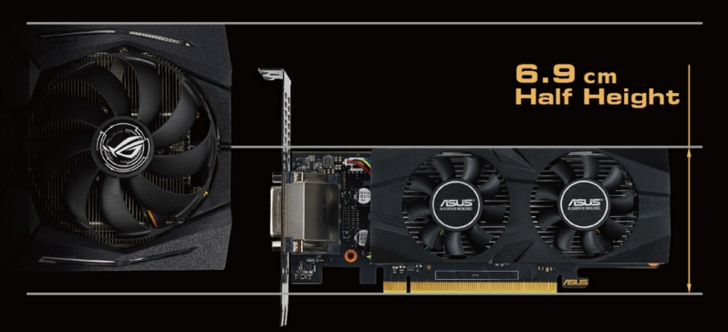 ASUS launches two low-profile GTX 1650 GPUs