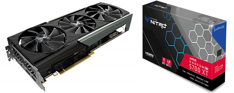 Sapphire's RX5700 XT Nitro+ has been appeared at retail