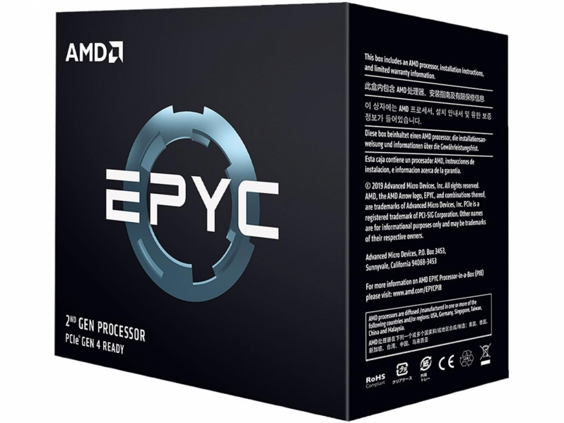 AMD brings Zen to new performance heights with their 64-core EPYC 7H12