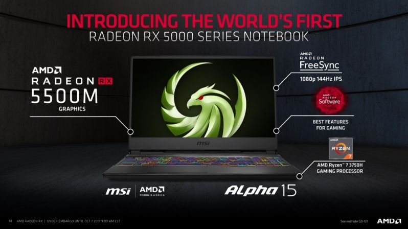 AMD's Radeon RX 5500 challenges Nvidia in the budget gaming and mobile markets