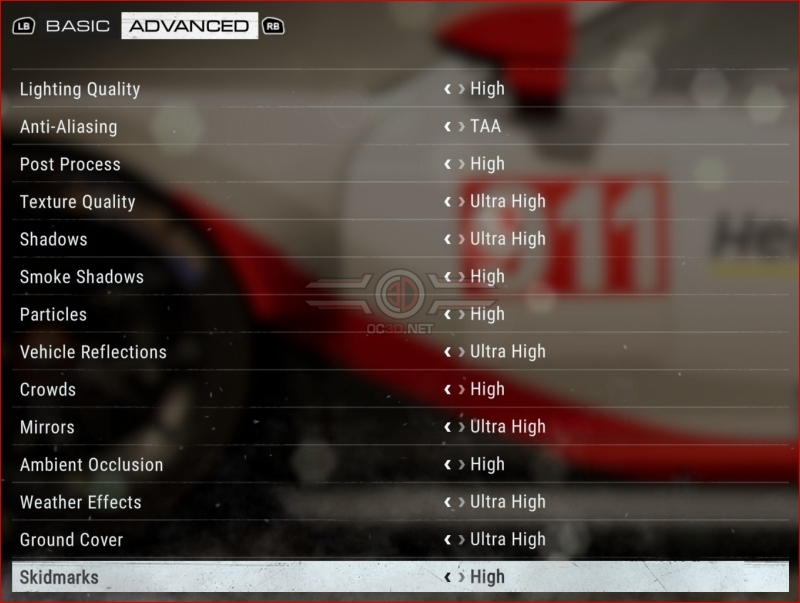 GRID PC Performance Review and Optimisations Guide
