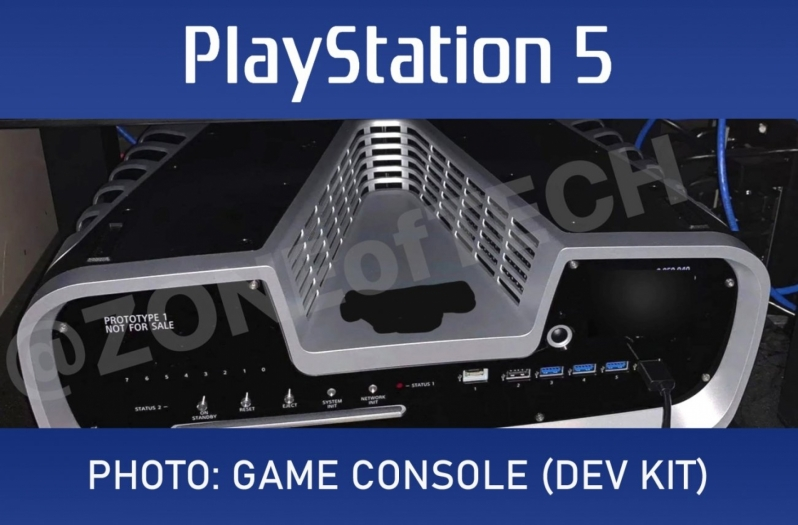 Sony's PlayStation 5 Developer Kit has been pictured