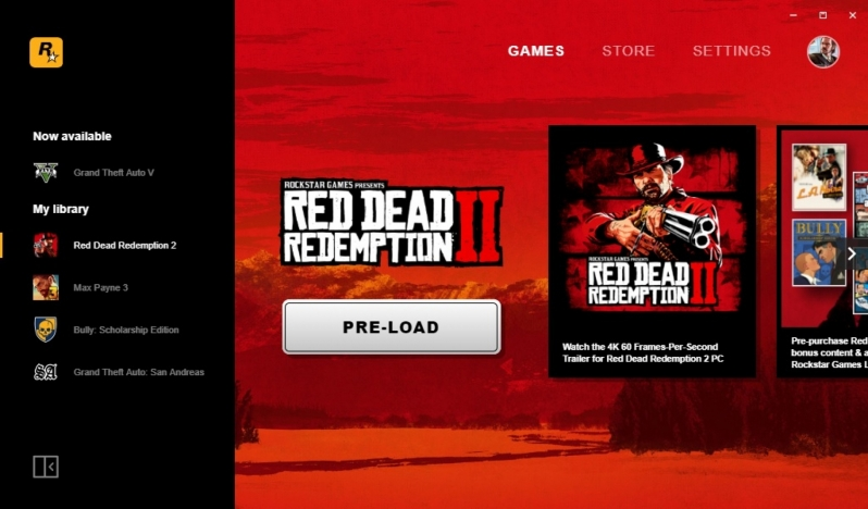 Red Dead Redemption 2 is now available to pre-load on PC