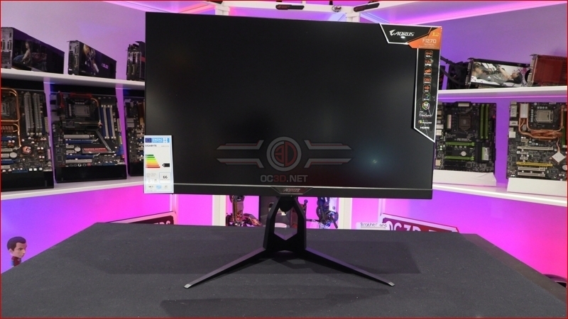 Gigabyte Aorus F127Q-P HBR3 HDR 165Hz Gaming Monitor Stand