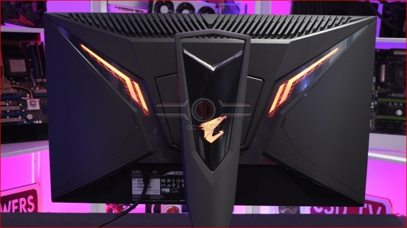 Gigabyte Aorus F127Q-P HBR3 HDR 165Hz Gaming Monitor Review