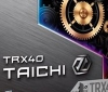 Images of ASRock's TRX40 Taichi motherboard has been pictured