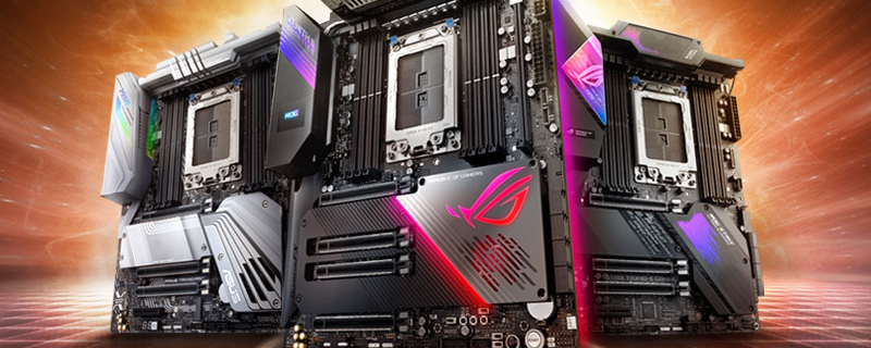 ASUS reveals three TRX40 motherboards for AMD's insane Threadripper 3rd Gen processors