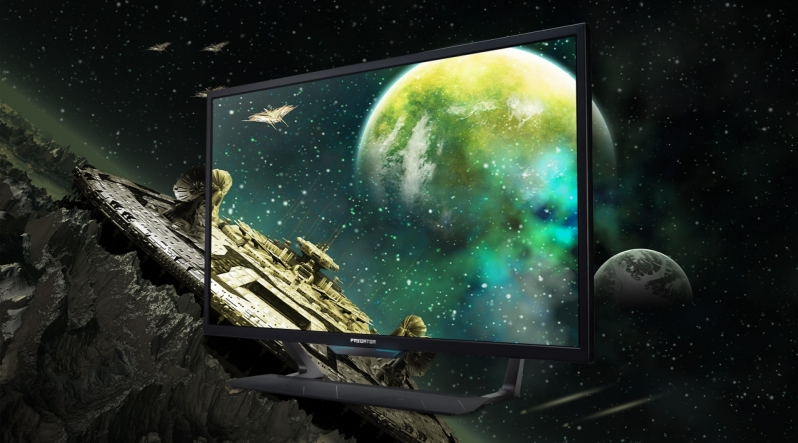 Acer's 43-inch Predator CG7 Large Format HDR Gaming Display is now available in the US