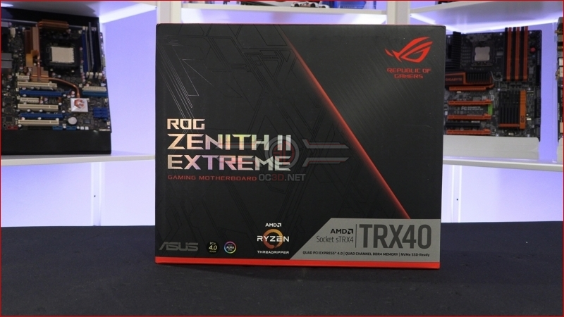 ASUS ROG TRX40 Zenith II Extreme Preview