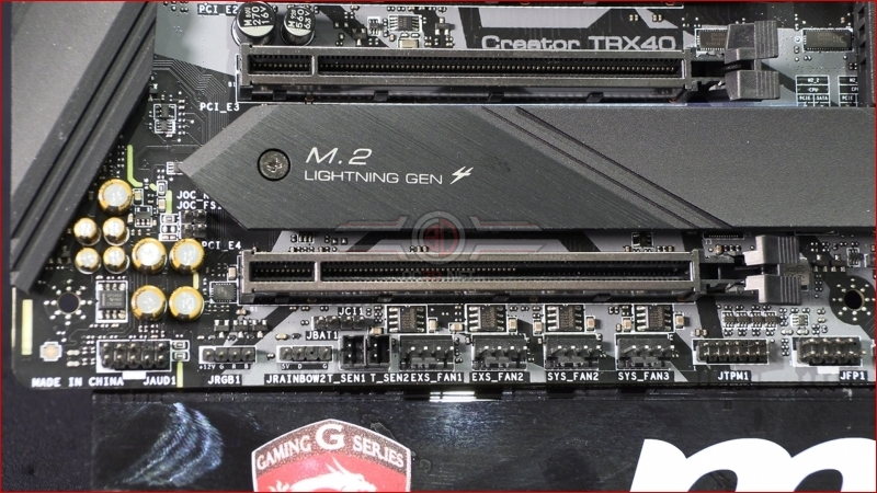 MSI TRX40 Creator USB Headers