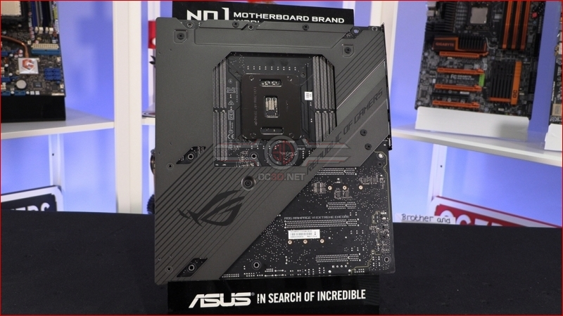 ASUS ROG Rampage VI Extreme Encore Backplate