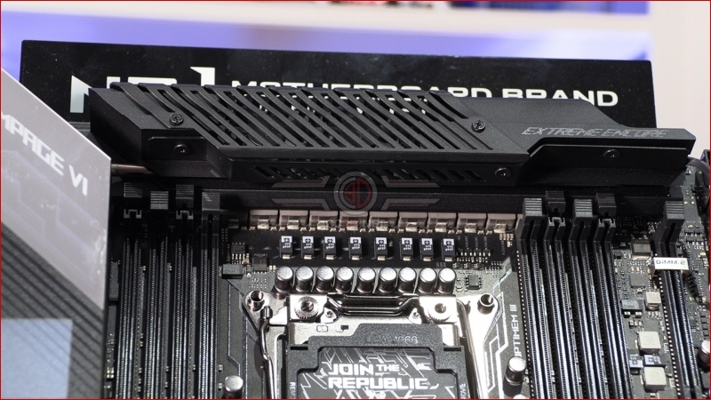ASUS ROG Rampage VI Extreme Encore Power Section