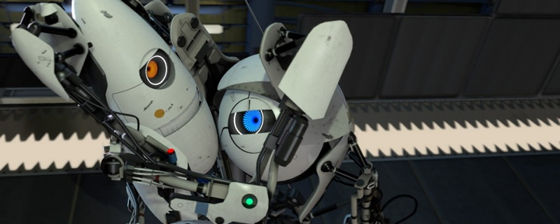 Portal 2 has been updated to improve local co-op on PC