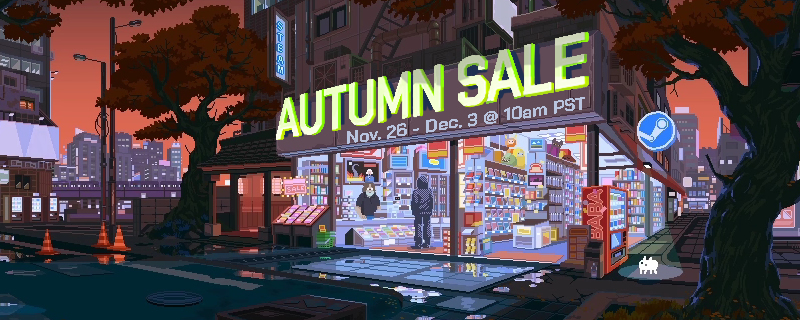 Valve's Steam Autumn Sale has started
