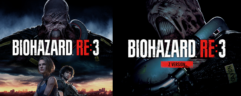 Resident Evil 3 Remake covers appear online