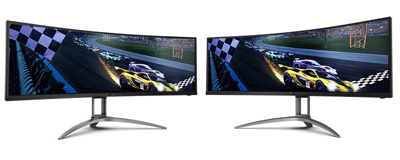 AOC reveals its 5120x1440 AGON AG493UCX, a double wide, 120Hz 1440p monitor