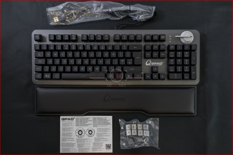 QPAD MK-95 Opto Mechanical Switch Keyboard