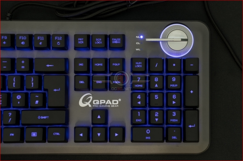 QPAD MK-95 Opto Mechanical Switch Keyboard Blue Switch