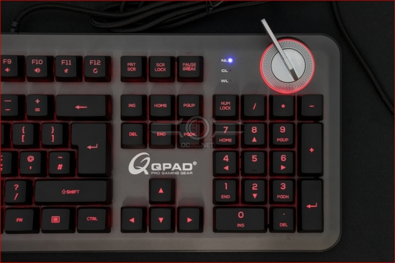 QPAD MK-95 Opto Mechanical Switch Keyboard Red Switch