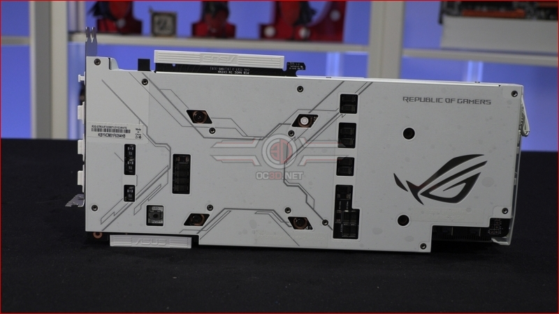 ASUS ROG Strix RTX 2080 Ti White Edition Backplate