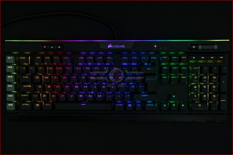 Corsair K95 RGB Platinum XT Lighting