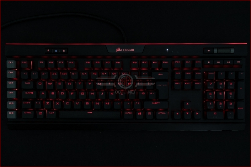 Corsair K95 RGB Platinum XT Red