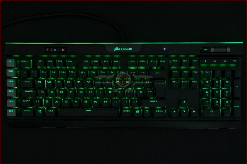 Corsair K95 RGB Platinum XT Green