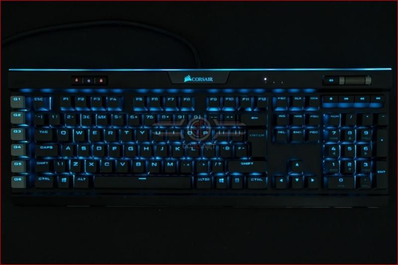 Corsair K95 RGB Platinum XT Blue