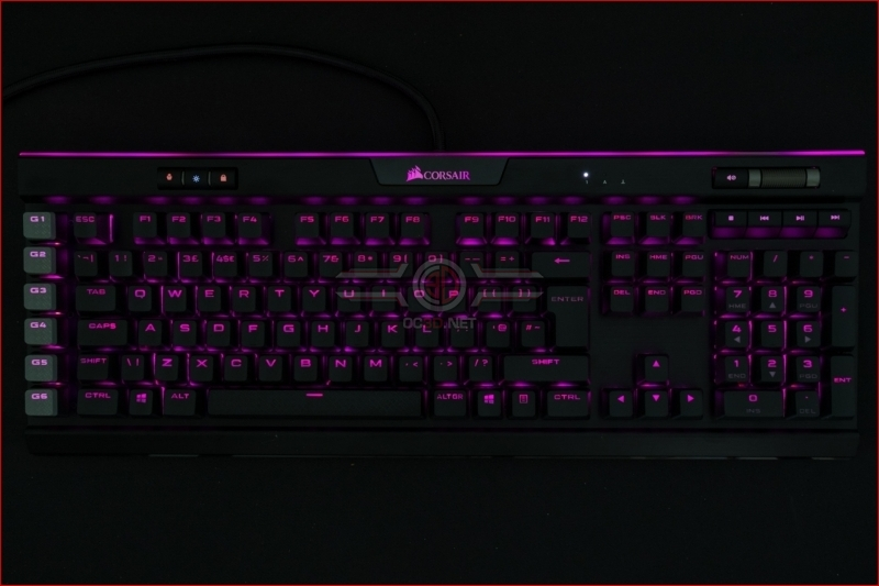 Corsair K95 RGB Platinum XT Hot Pink