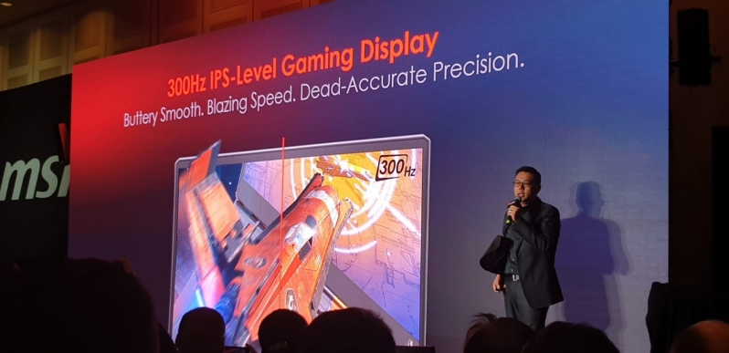 MSI plans to win the race towards 300Hz IPS laptops with its GG66 Raider - CES 2020