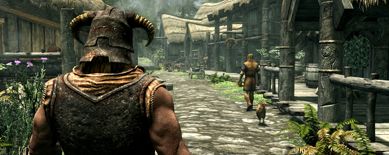 This Skyrim mod makes 120Hz+ gameplay easier than ever before