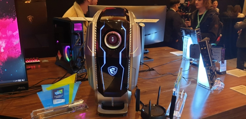MSI's Aegis Ti5 packs Intel's 10th Gen i9, 5G and all the latest tech - CES 2020