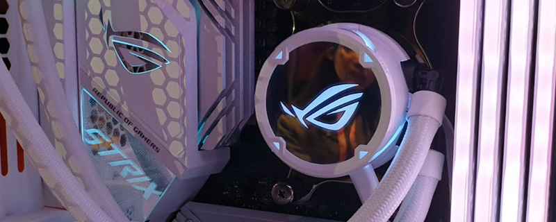 ASUS reveals a lineup of All-White ROG Products at CES 2020