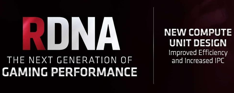 AMD's RDNA 2 architecture will major performance/efficiency improvements - Rumour