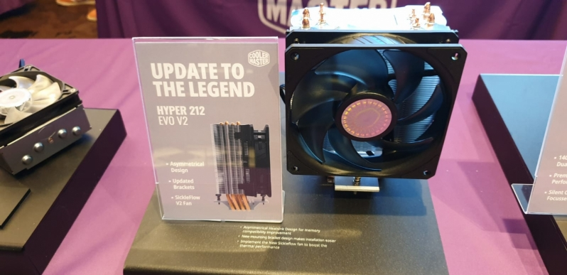 Cooler Master's new Hyper 212 EVO V2 had made the classic cooler better than ever