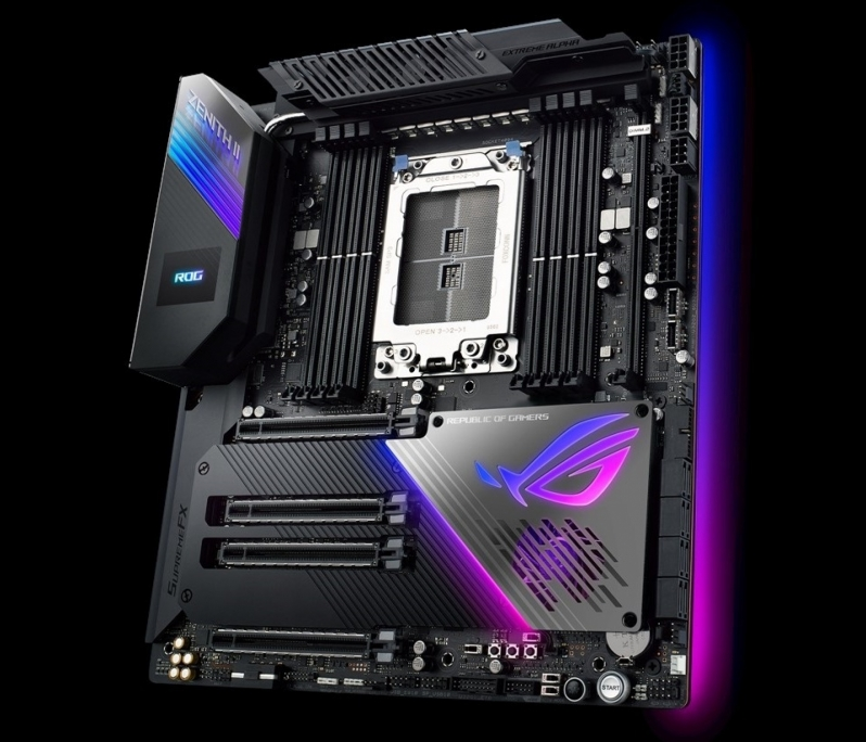 ASUS ROG ZENITH II Extreme Alpha is designed for AMD's 64-core Ryzen Threadripper 3990X