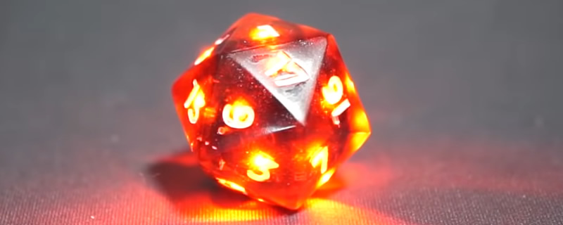 RGB is coming to D&D with Pixels' upcoming customisable dice