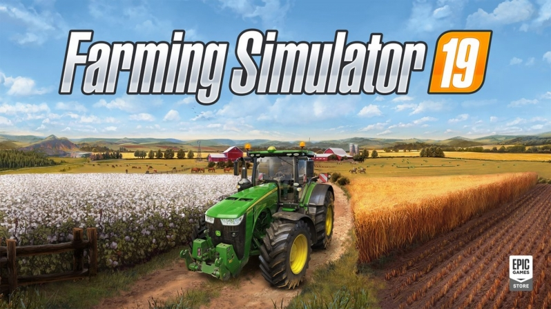 Farming Simulator 2019 is currently available for free on the Epic Games Store